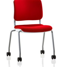 Grazie chair armless on casters