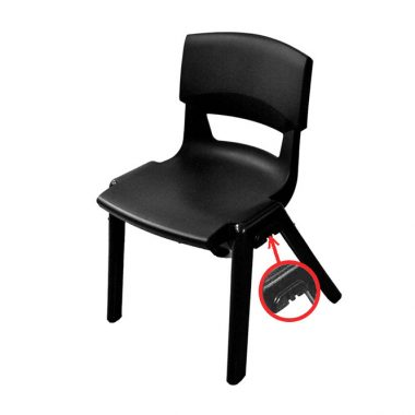 Black Postura Music Chair