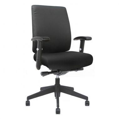 Black Stellar Manager Task Chair