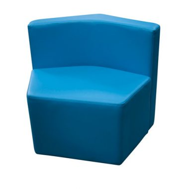 Blue Astral Ottoman