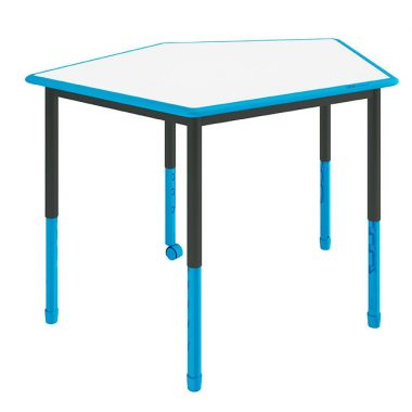 Twist'n'Lock Height Adjustable Table - Cinque