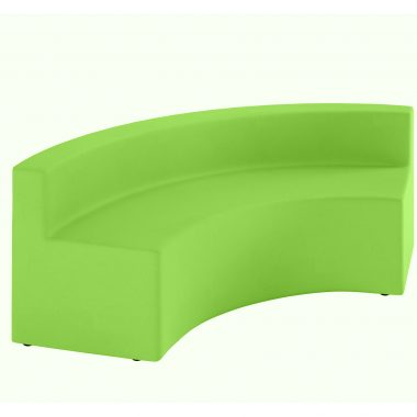 Green Curve with Backrest