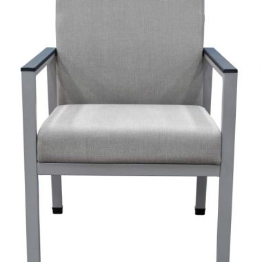 Ellis Single Grey Lounge Chair