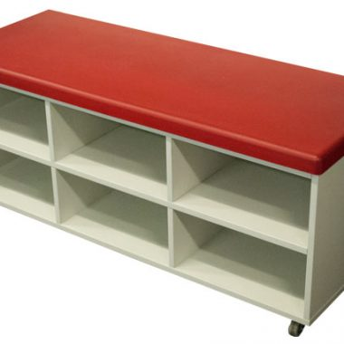 Soft Top Mobile Storage Cupboard