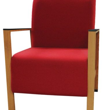 Red Tennyson Armchair