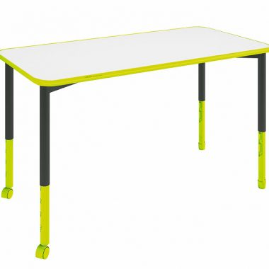 Rectangular Twist'n'Lock® Height Adjustable Table