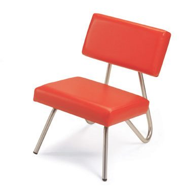 Domino Chair Red