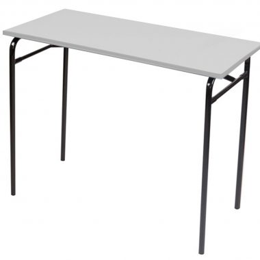 The M-61 Folding Exam Table in Oyster Grey