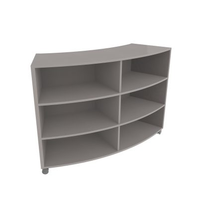 Curved Bookcase900MM Updated