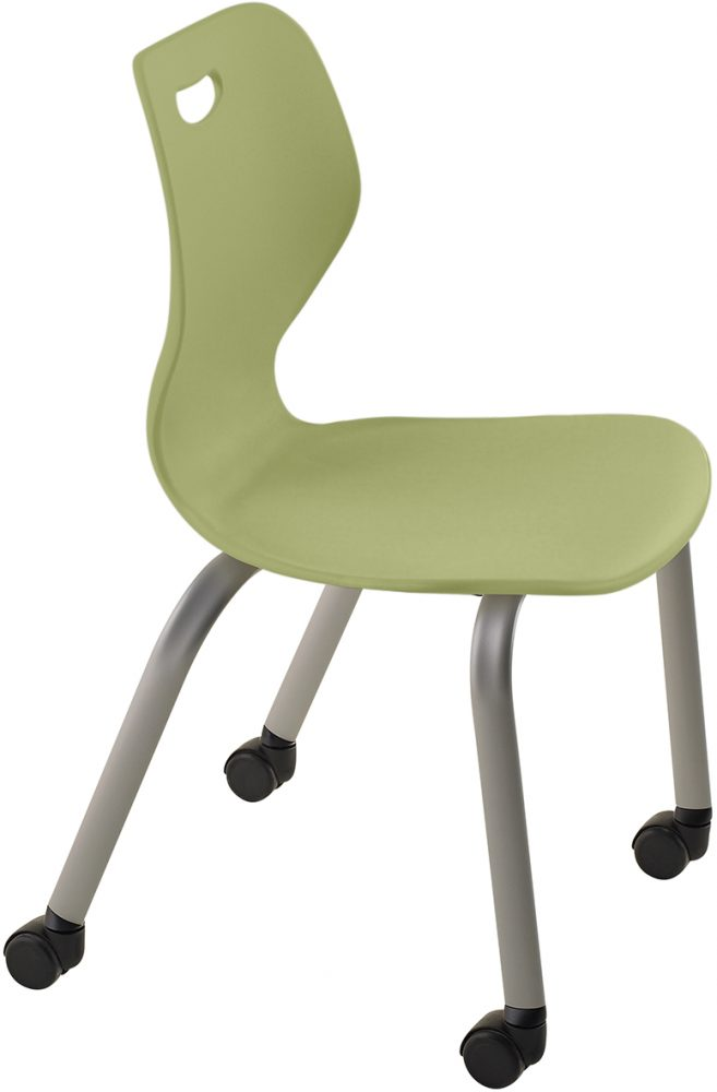 Intellect Wave Gaslift Chair Grass Green