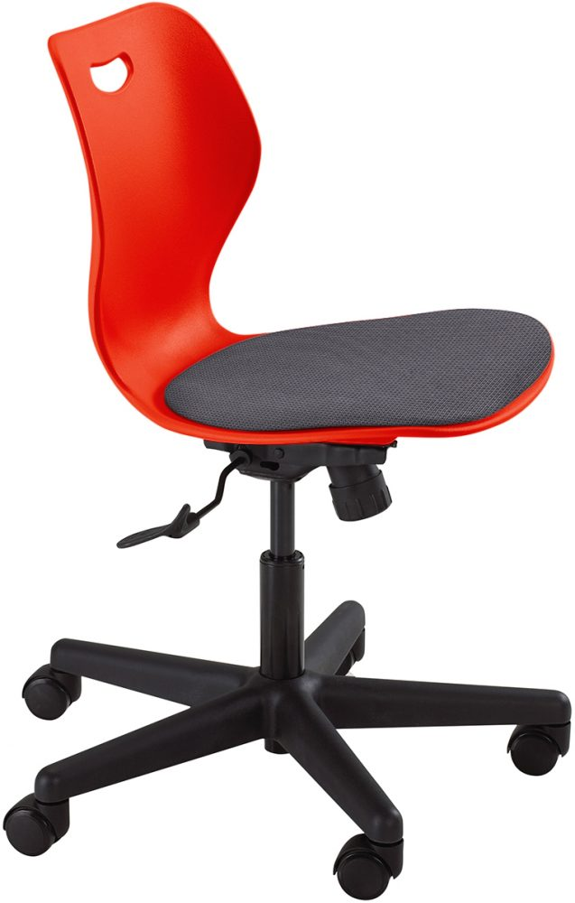 Intellect Wave Gaslift Poppy Red Seat