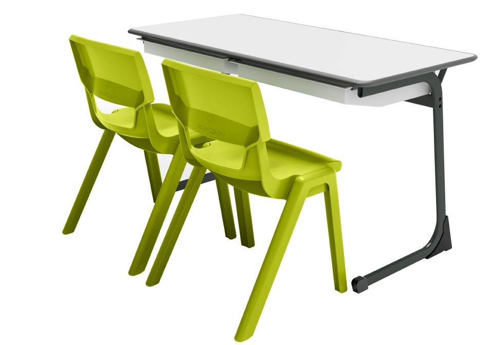 Here To Learn 2 - Postura Max Chair C Leg Desk