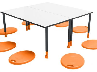 Down to Learn - Rectangular Twist'n'Lock Table Cushpods