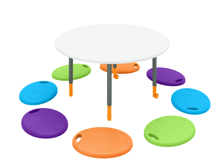 Lily Pad - Round Twist'n'Lock Table Cushpod