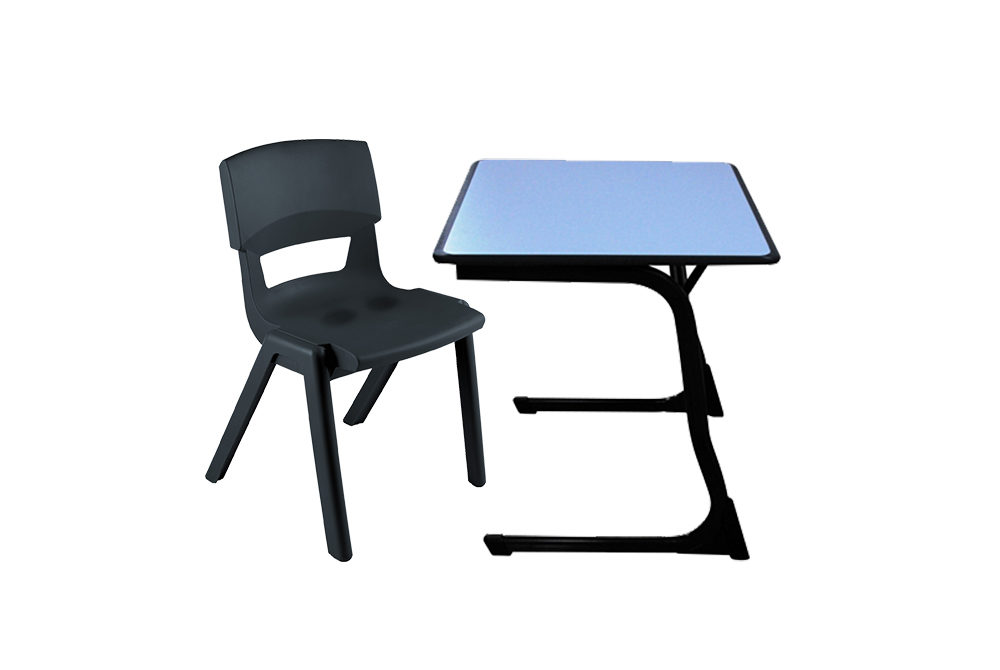 Postura Max and Square C leg Table