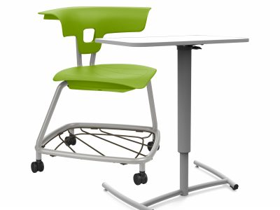 Move n' Learn - Ruckus Chair with castors Height Adjustable Table