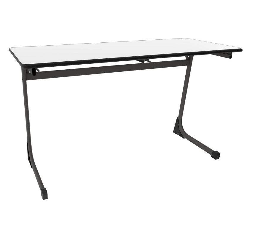 C Leg Desk Duo Writable