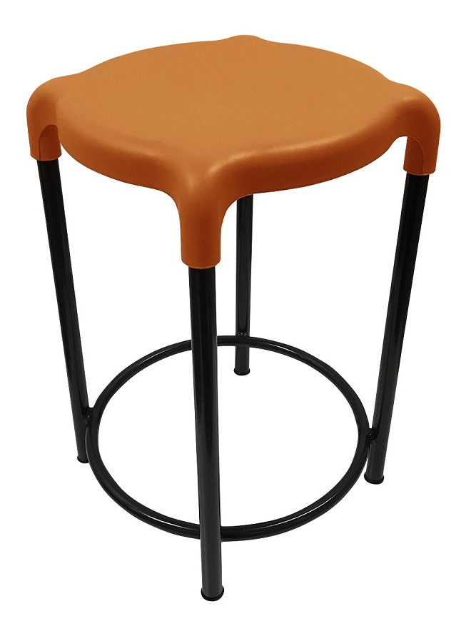 Cosmic Stool Burnt Orange