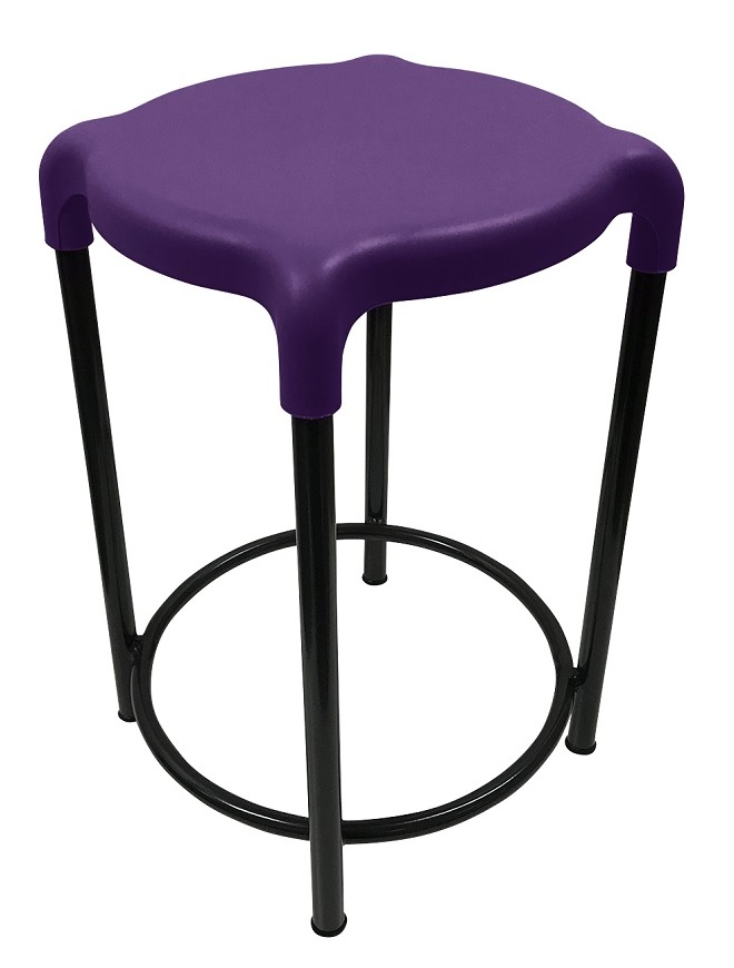 Cosmic Stool Dark Purple