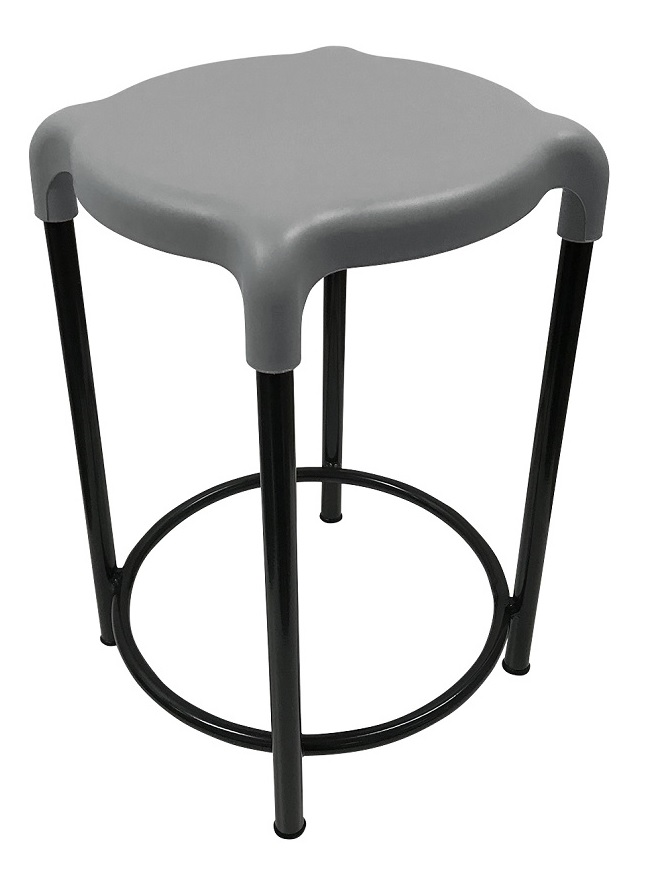 Cosmic Stool Light Grey
