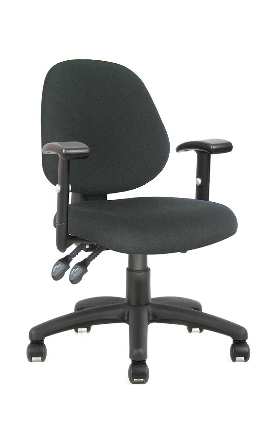 Ergos AC Medium Back Grey Chair