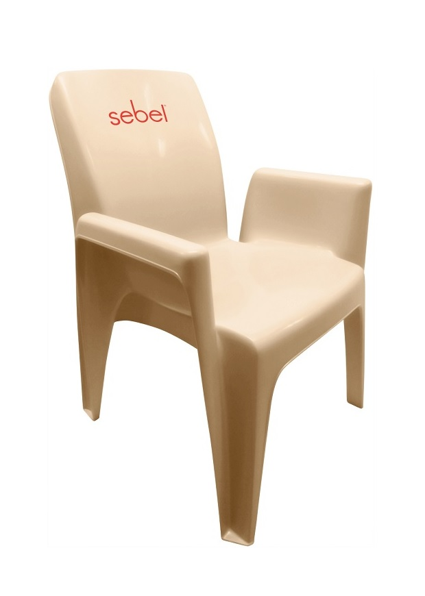 Integra AC Almond Chair with Logo