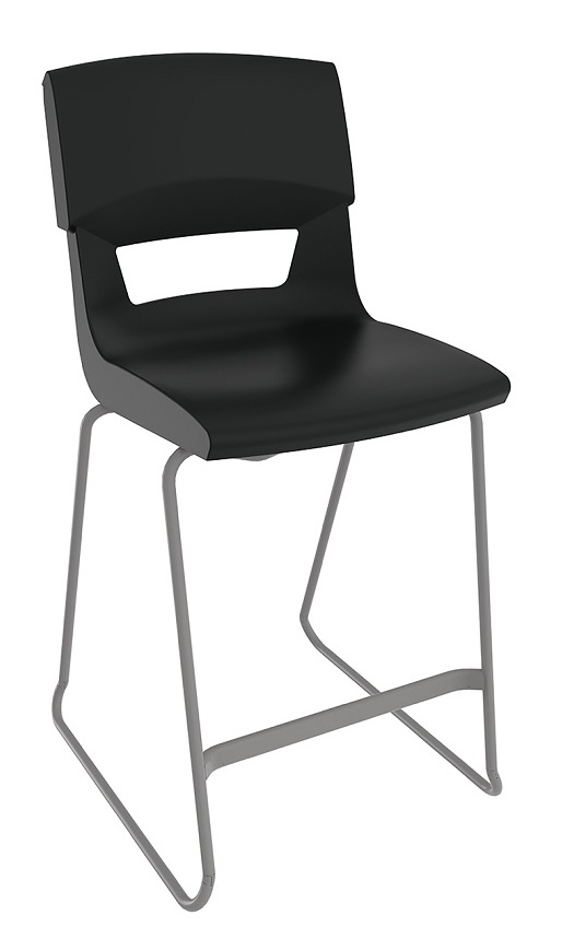 Postura Plus Stool Black