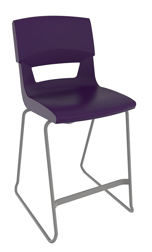 Postura Plus Stool Dark Purple