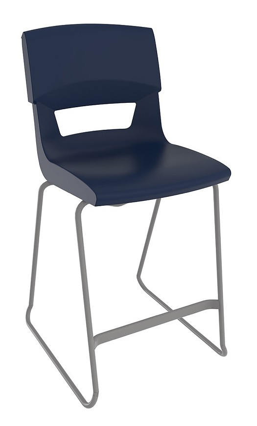 Postura Plus Stool Navy