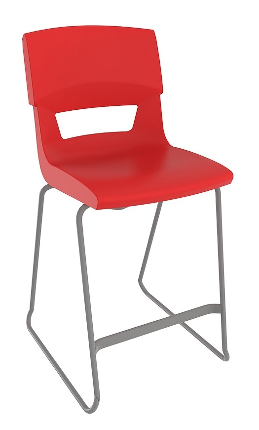Postura Plus Stool Red