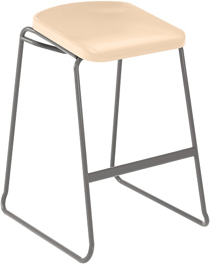 Postura Focus Stool Almond