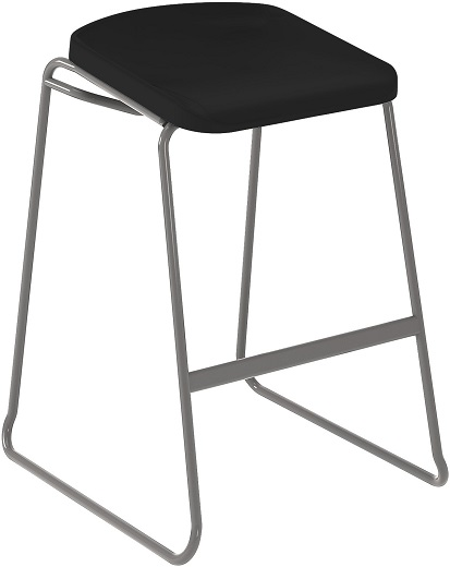 Postura Focus Stool Black