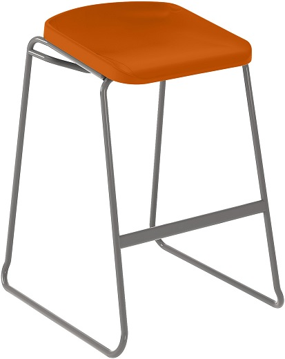 Postura Focus Stool Burnt Orange