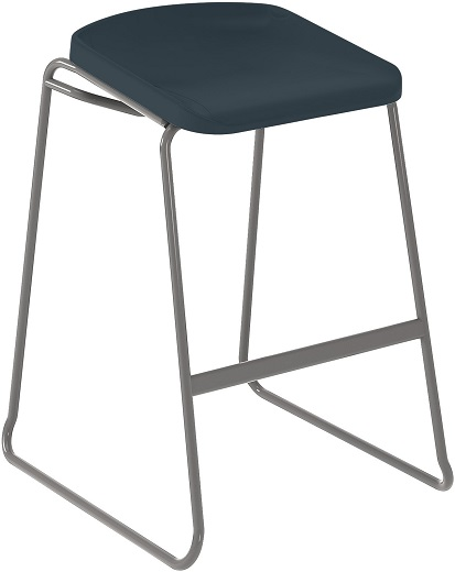 Postura Focus Stool Dark Grey