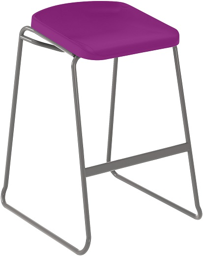 Postura Focus Stool Grape