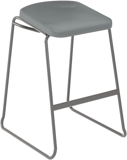 Postura Focus Stool Light Grey