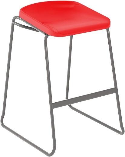 Postura Focus Stool Red