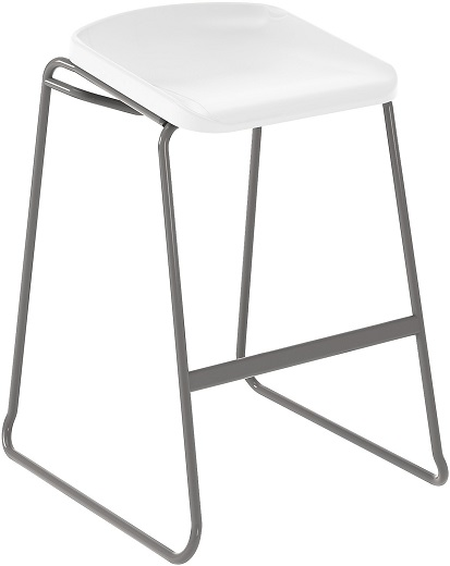 Postura Focus Stool White