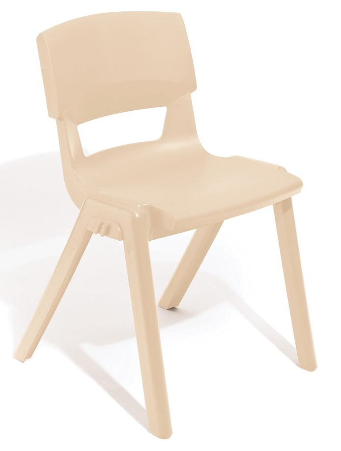 Postura Plus Linking Chair in Almond