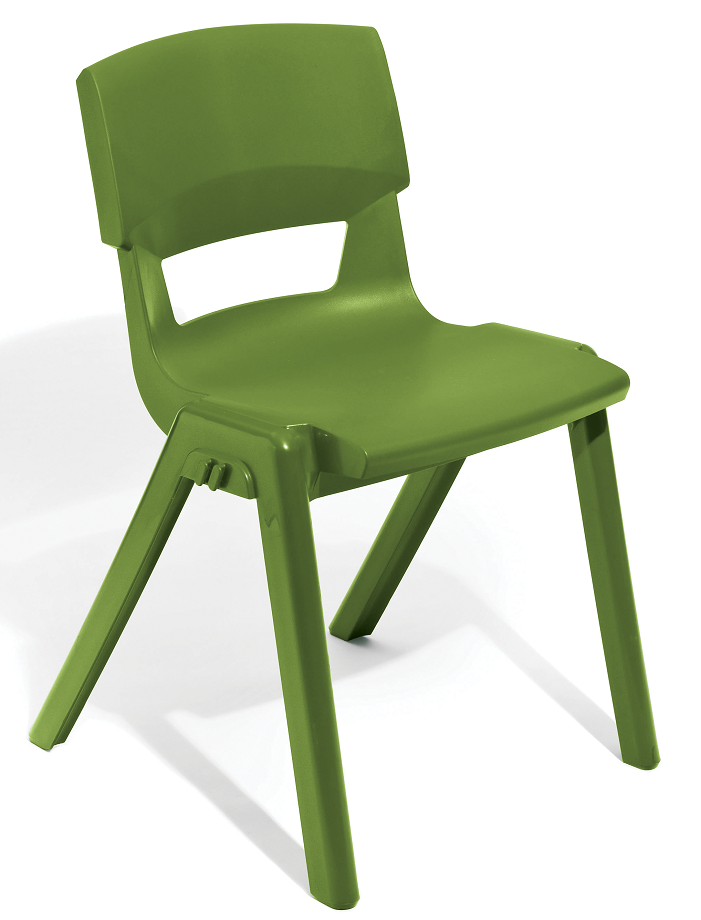 Postura Plus Linking Chair in Avocado
