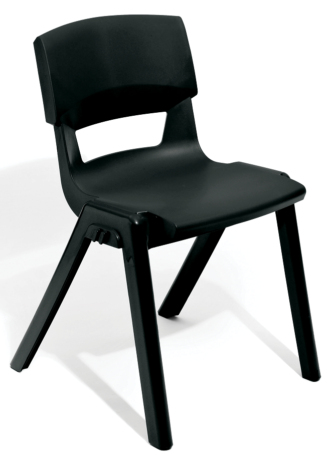 Postura Plus Linking Chair in Black
