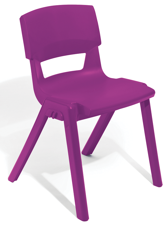 Postura Plus Linking Chair in Grape