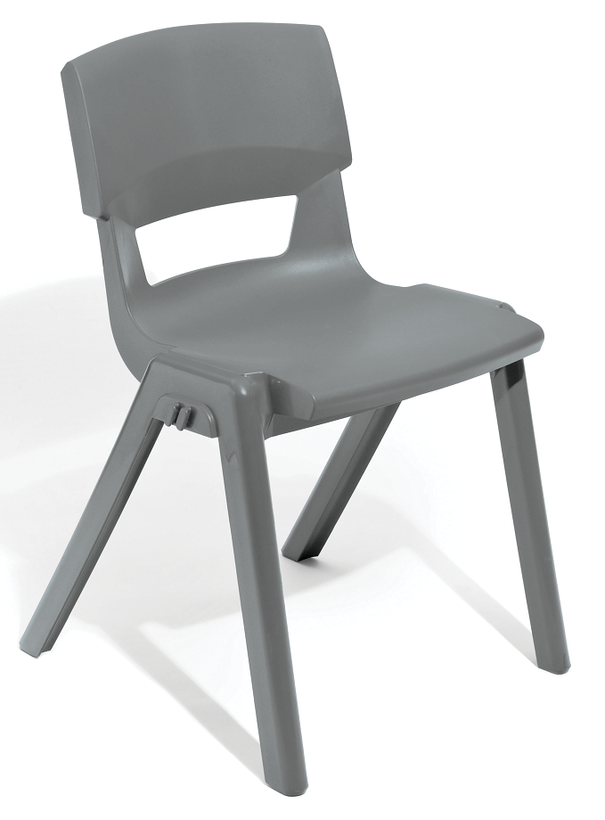 Postura Plus Linking Chair in Light Grey