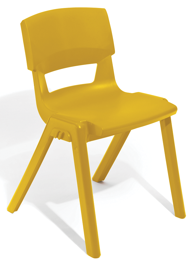 Postura Plus Linking Chair in Mustard