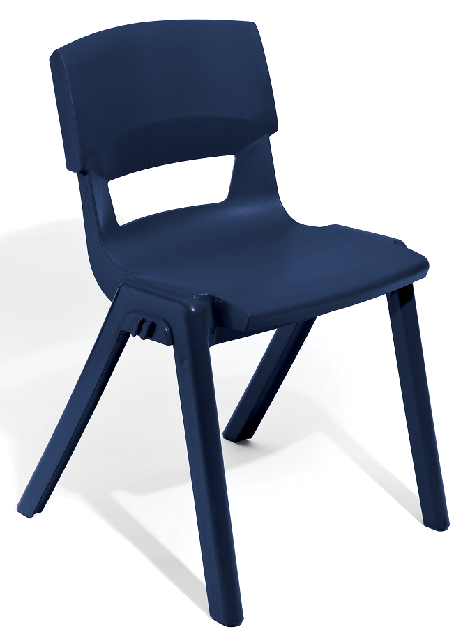 Postura Plus Linking Chair in Navy