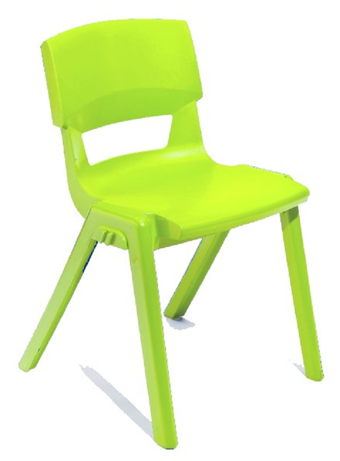 Postura Plus Linking Chair in Pine Lime