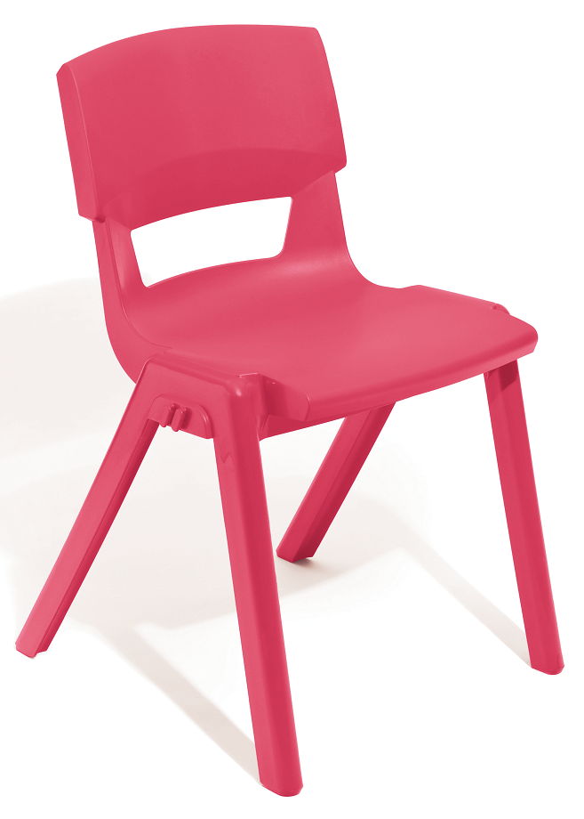 Postura Plus Linking Chair in Pink