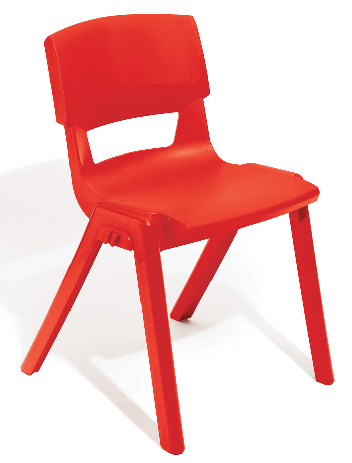 Postura Plus Linking Chair in Red