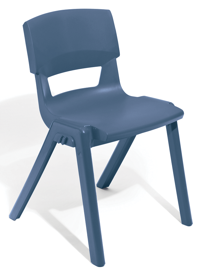 Postura Plus Linking Chair in Slate