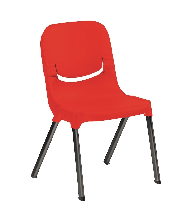 Progress SC Red Chair With Black Legs